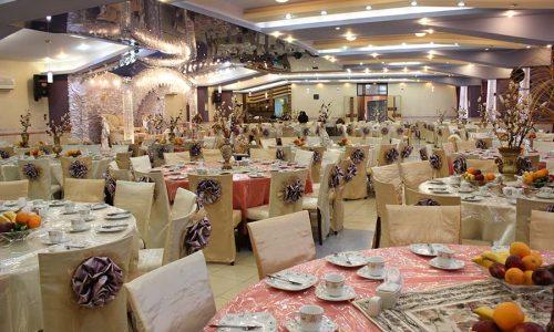 تالار پذیرایی یاسمن موسسه فرهنگی ورزشی و توانبخشی ایثار آذربایجان شرقی- مجتمع صدرا